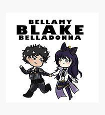 Bellamy Blake Belladonna Photographic Print