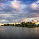 Donau Sunset by V-Light