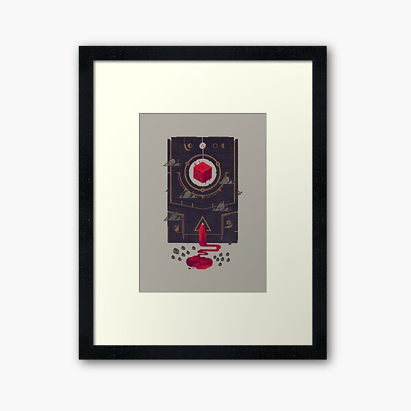 It was built for us by future generations Framed Art Print