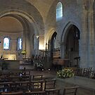 Inside Lastingham Church by dougie1