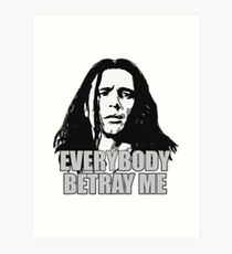 Tommy Wiseau The Room Art Print