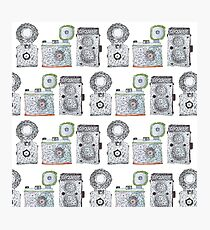 Camera Pattern Photographic Print
