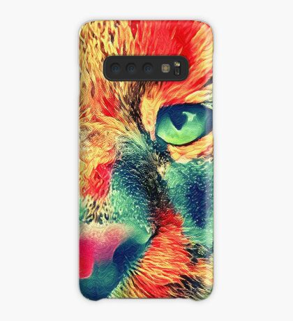 Artificial neural style wild cat Case/Skin for Samsung Galaxy