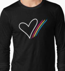 Heart Stripe - T-Shirt Long Sleeve T-Shirt
