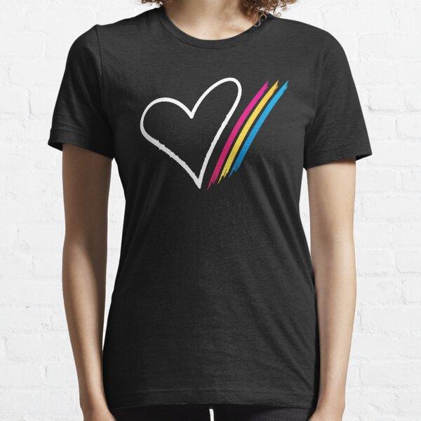 Heart Stripe - T-Shirt Essential T-Shirt