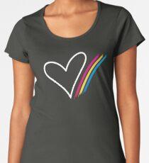 Heart Stripe - T-Shirt Women's Premium T-Shirt