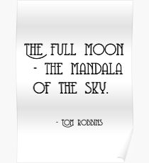 The Full Moon - The Mandala of the Sky Poster