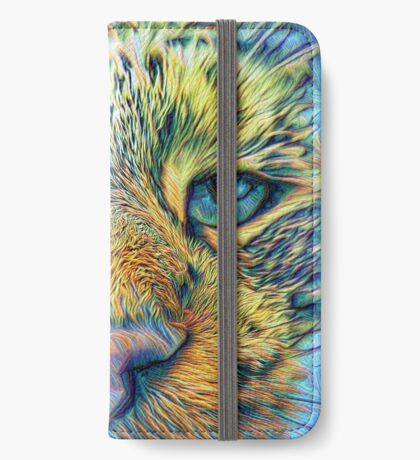#DeepDreamed Cat v1449127170 iPhone Wallet