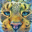 #DeepDreamed Cat v1449127170 by blackhalt