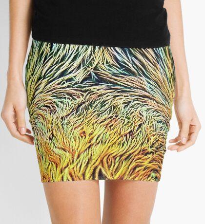 #DeepDreamed Cat v1449127170 Mini Skirt