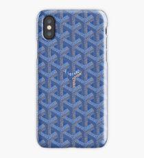 Blue Goy Goyard 2 iPhone Case