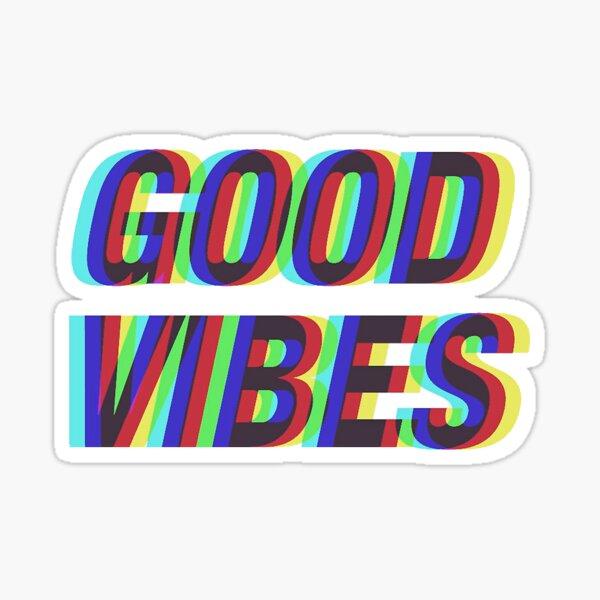 Buenas vibraciones Pegatina