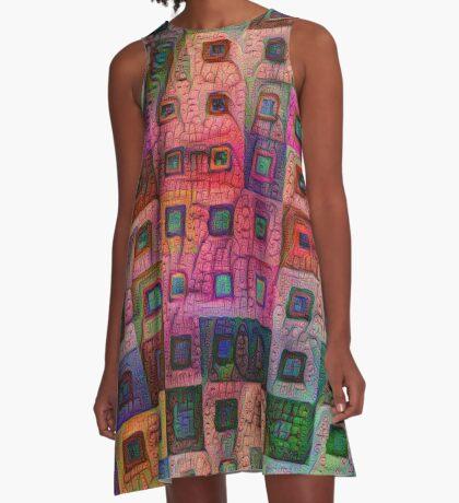Autumn #DeepDream A A-Line Dress