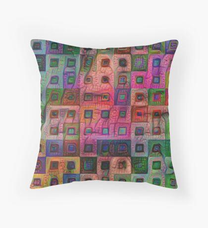Autumn #DeepDream A Floor Pillow
