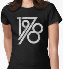 Camiseta entallada para mujer Vintage retro 1978 - 40.a camiseta del cumpleaños
