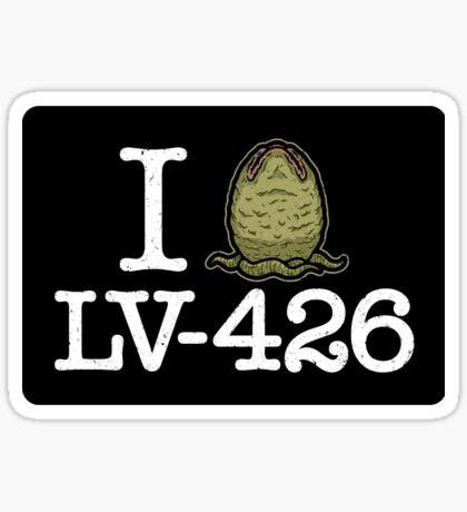 I Love LV-426 (STICKER) Sticker