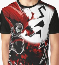 Spawn All-Over (Red) Graphic T-Shirt