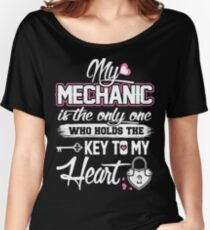 My mechanic - Who holds the key to my heart Women's Relaxed Fit T-Shirt