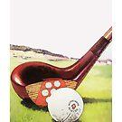 Vintage Golf Art - ca. 1920er Jahre von Marlene Watson