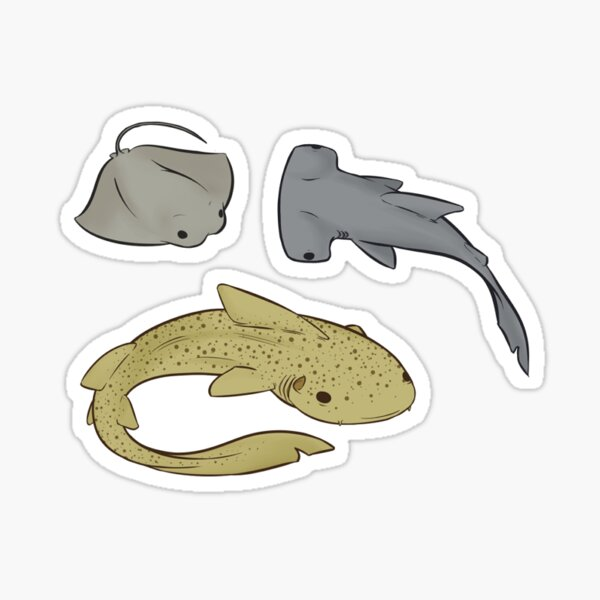 Sea Critter Sticker Set 1 Sticker