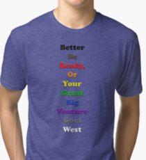 Resistor Code 13 - Better be ready... Tri-blend T-Shirt