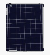 Sapphirine bars of different width iPad Case/Skin
