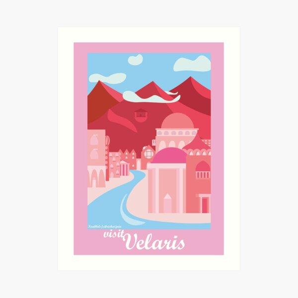 visit velaris!  Art Print