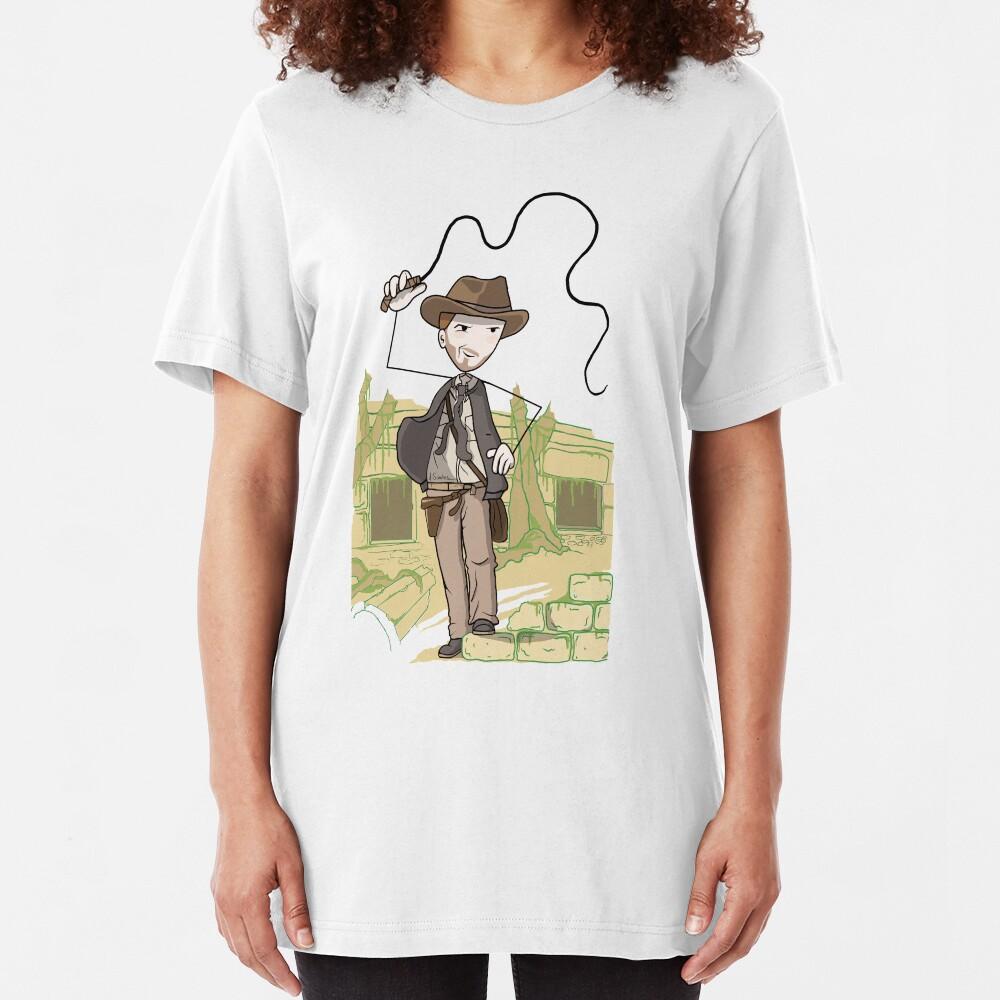 Cartoon Latigo Nes Slim Fit T-Shirt