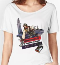Vintage Chesterfield Cigarette Advert Women's Relaxed Fit T-Shirt