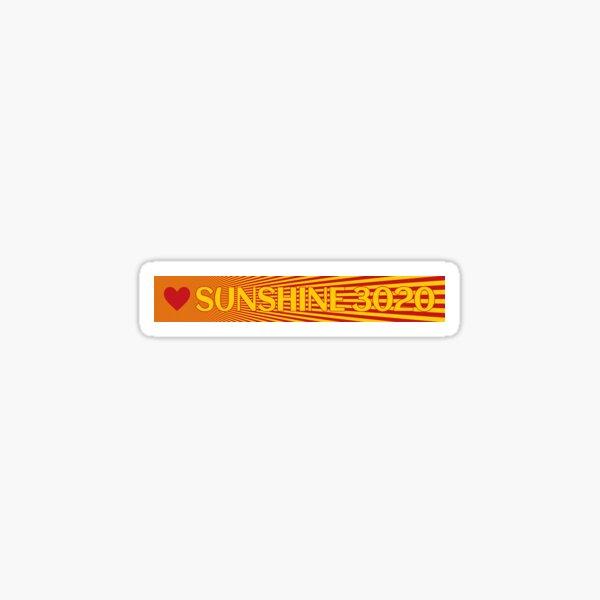Sunshine 3020 Wide Format Sticker