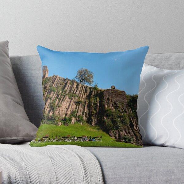 Overlooking Throw Pillow