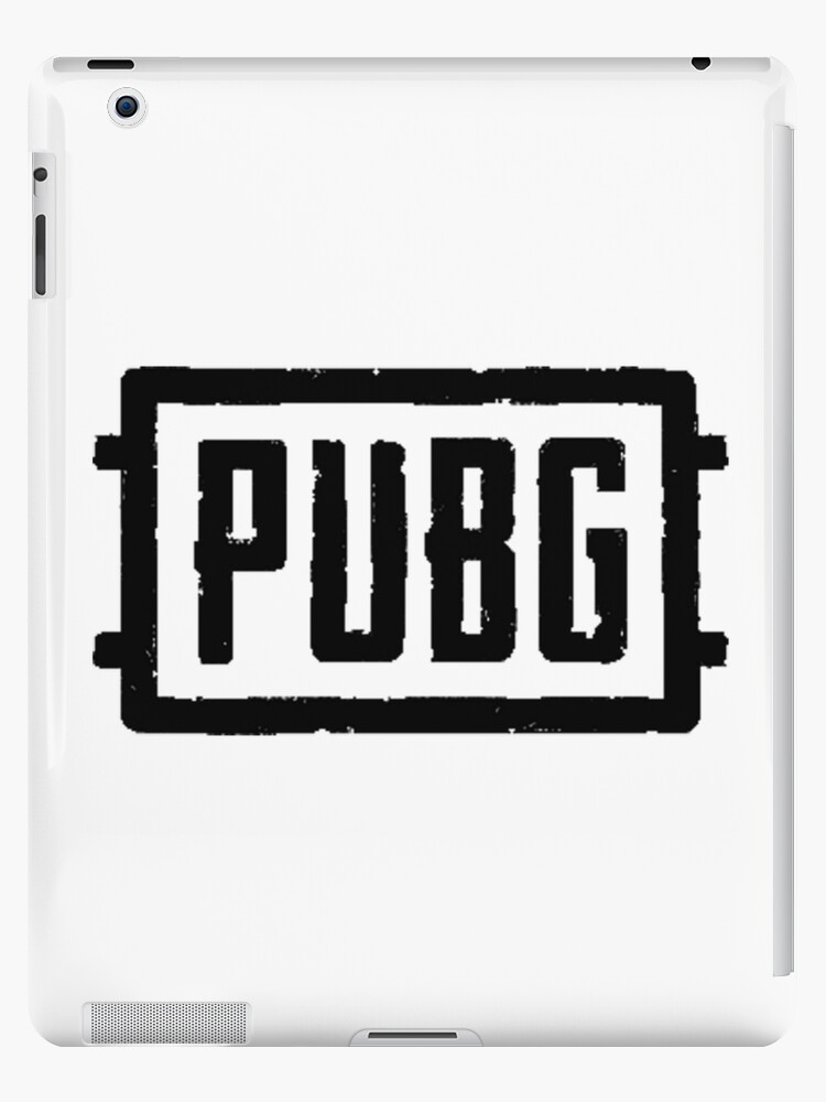 Pubg Logo Ipad Cases Skins By Merchpub Redbubble