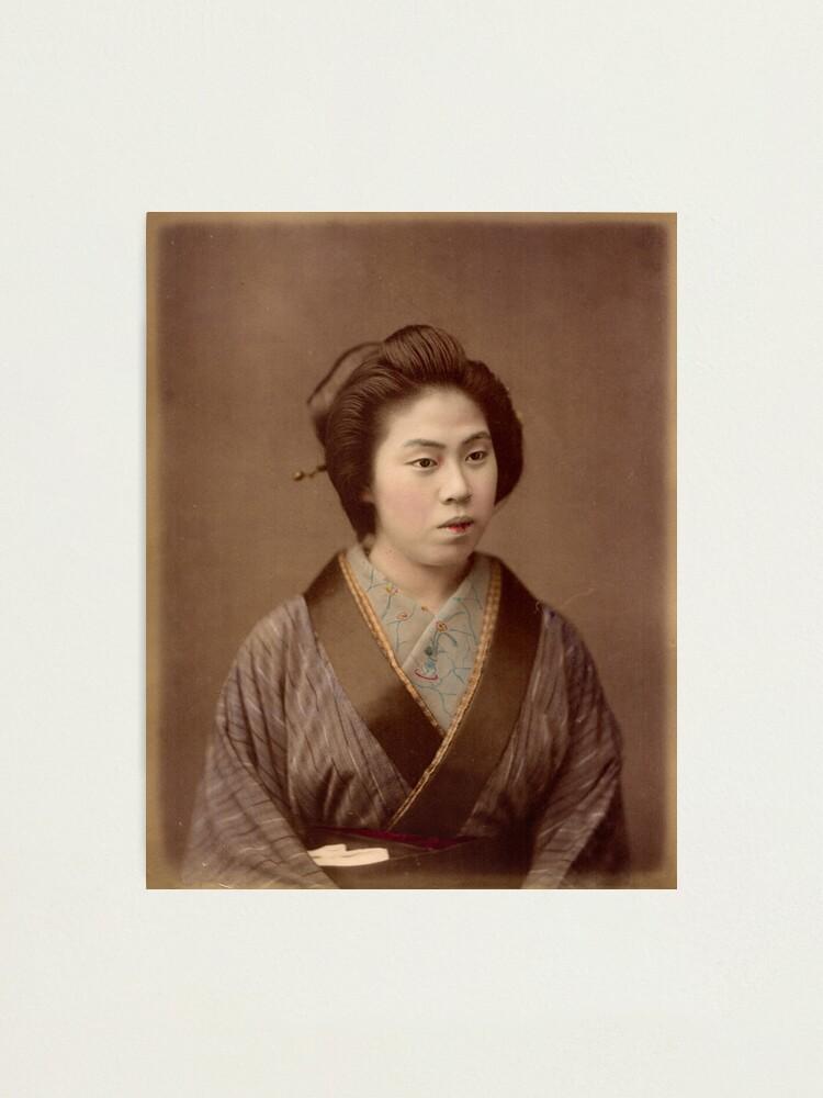 Alternate view of Geisha Photographic Print