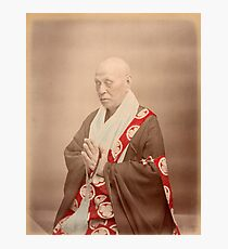 Buddhist priest Photographic Print