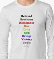 Resistor Code 14 - Beloved Brethren... T-Shirt
