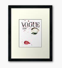 Vogue_1950 Framed Print
