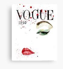 Vogue_1950 Canvas Print