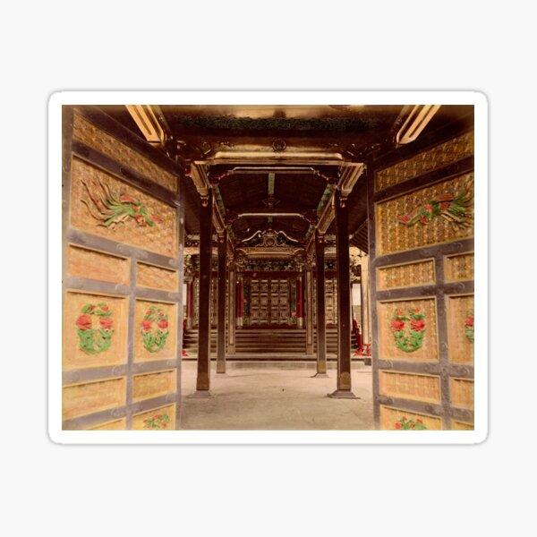 Temple Haiden Sticker