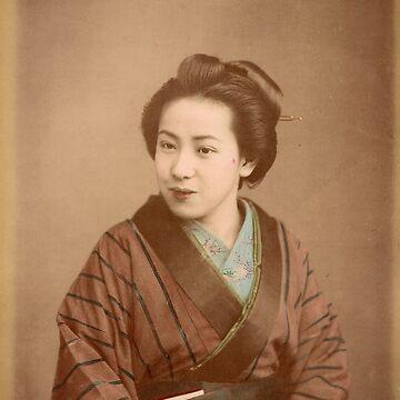 Japanese Geisha by Fletchsan