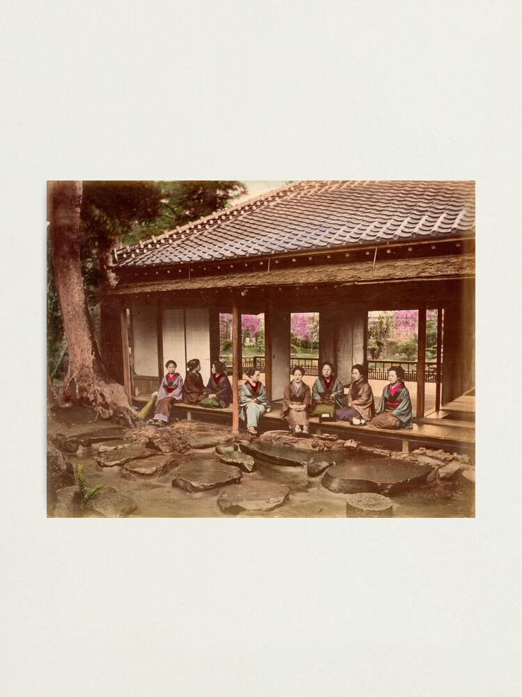Alternate view of Geisha at Tea House Photographic Print