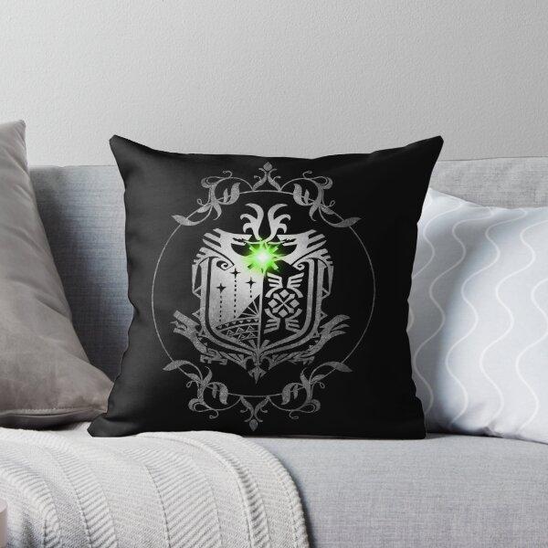 Monster Hunter World Throw Pillow