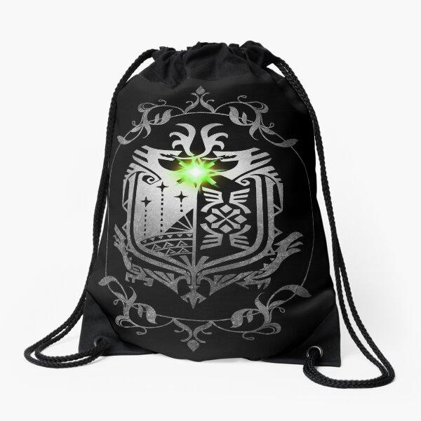 Monster Hunter World Drawstring Bag