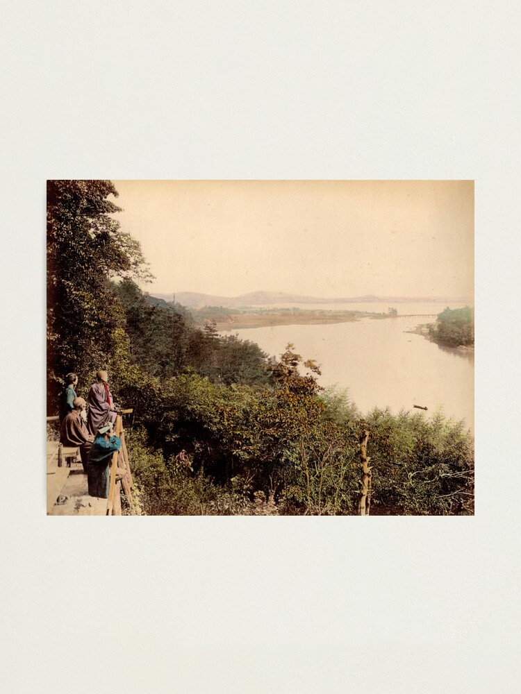 Alternate view of Lake Biwa, Japan Photographic Print