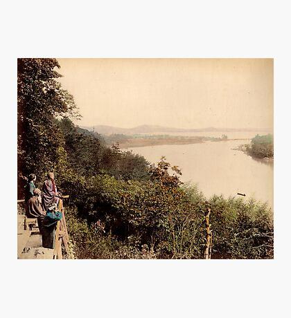 Lake Biwa, Japan Photographic Print