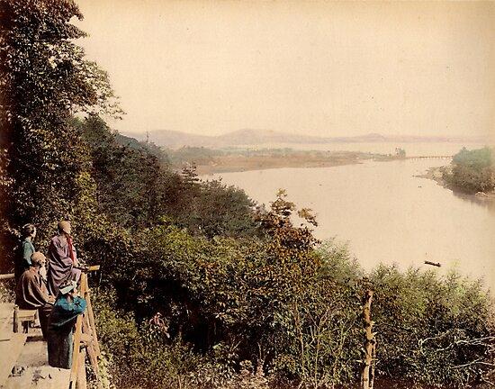 Lake Biwa, Japan by Fletchsan