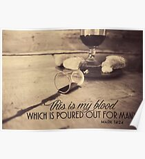 This Is My Blood Poster