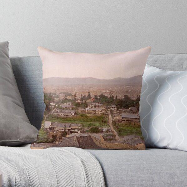 Kyoto, Meiji Period, Japan Throw Pillow