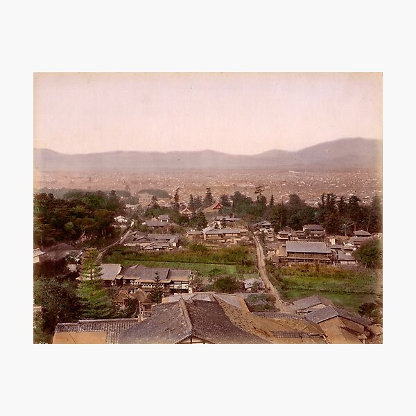 Kyoto, Meiji Period, Japan Photographic Print