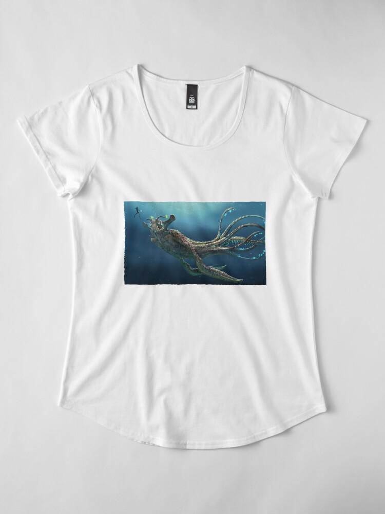 Alternative Ansicht von See-Kaiser Premium Rundhals-Shirt