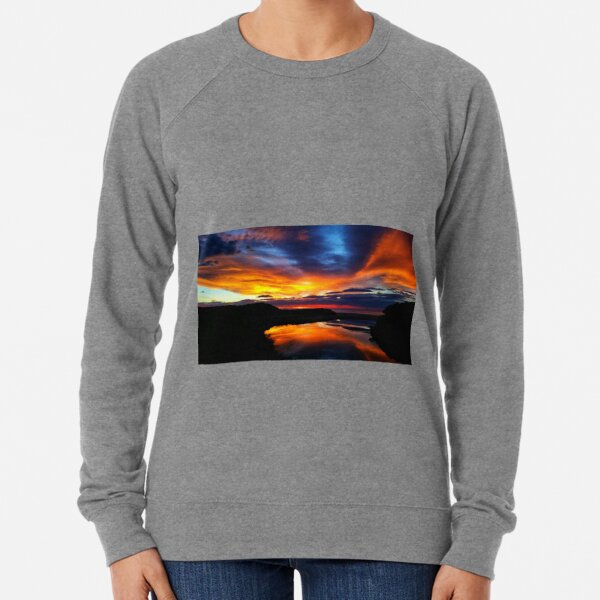 Sunrise at Coles bay Tasmania Lightweight Sweatshirt